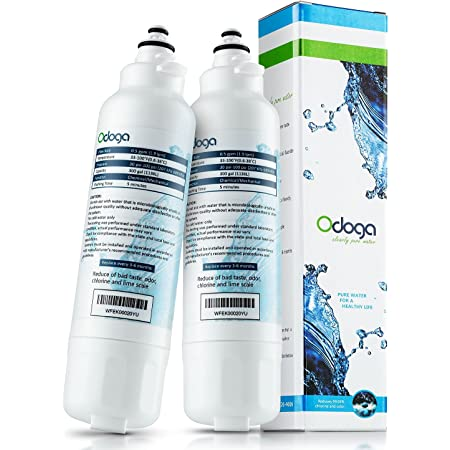 Odoga LT800P Refrigerator Water Filter Replacement for LG LT800P, ADQ73613401, ADQ73613402, Kenmore 9490, 46-9490, 469490 (2-pack)