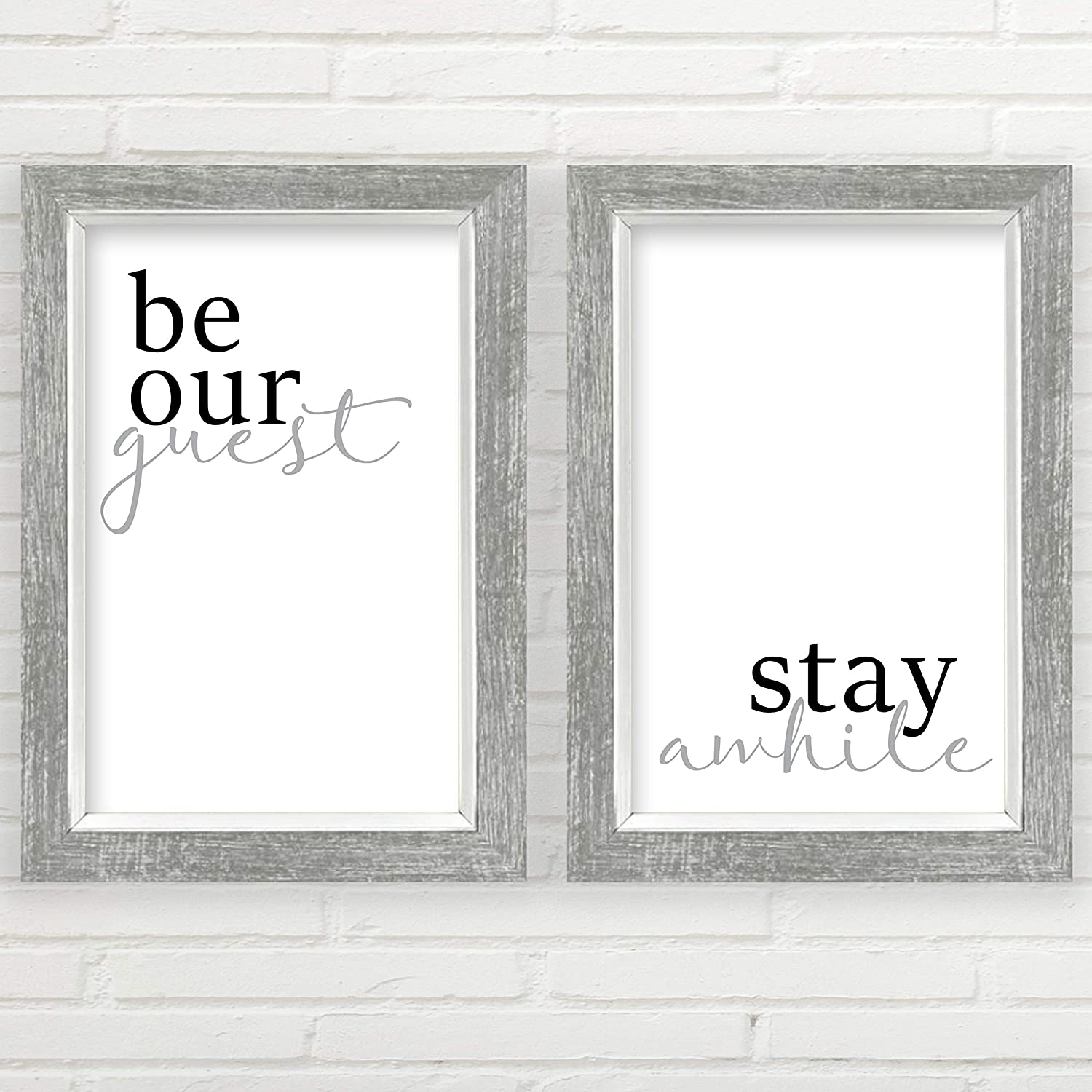 Be Our Japan Maker New Guest Stay Max 84% OFF Awhile Wall inch 11x17 Unframed Decor Prints
