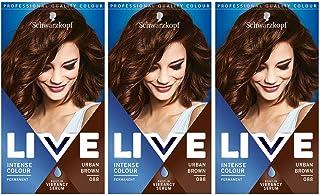 Schwarzkopf Live Intense Colour Hair Dye, Permanent Colour &