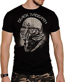 Black Sabbath Herren T-Shirt Schwarz Schwarz