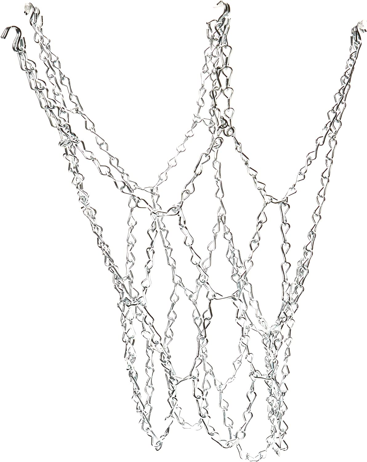 Champion Sports Galvanized Max 42% OFF Steel Chain Basketball 4 of Net Pack Clearance SALE Limited time