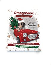 Omegasnax Dog Advent Calendarwith Salmon and Sweet Potato