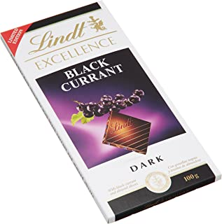 Lindt Excellence Black Currant Dark Chocolate - 100g