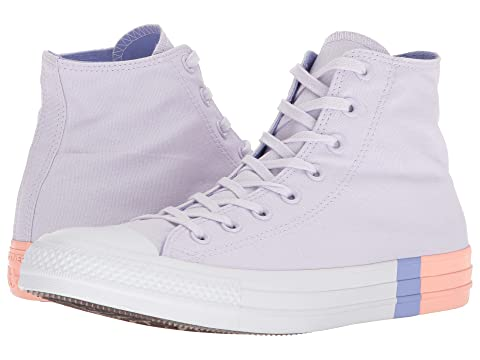 Shoes Converse Chuck Taylor All Star Tri Block Midsole Barely Grape/Twilight Pulse/Pale Coral ZSTRFV