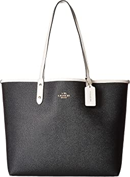Solid Reversible City Tote