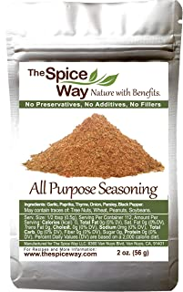 The Spice Way All Purpose Seasoning - 2 oz