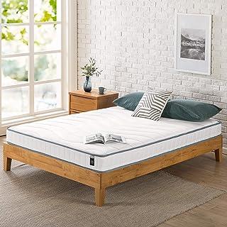 Zinus Colchón de Espuma y muelles de 15,25 cm, Certificado CERTIPUR-US, colchón de Boxeo, Certificado Oeko-Tex, 80 x 190 cm