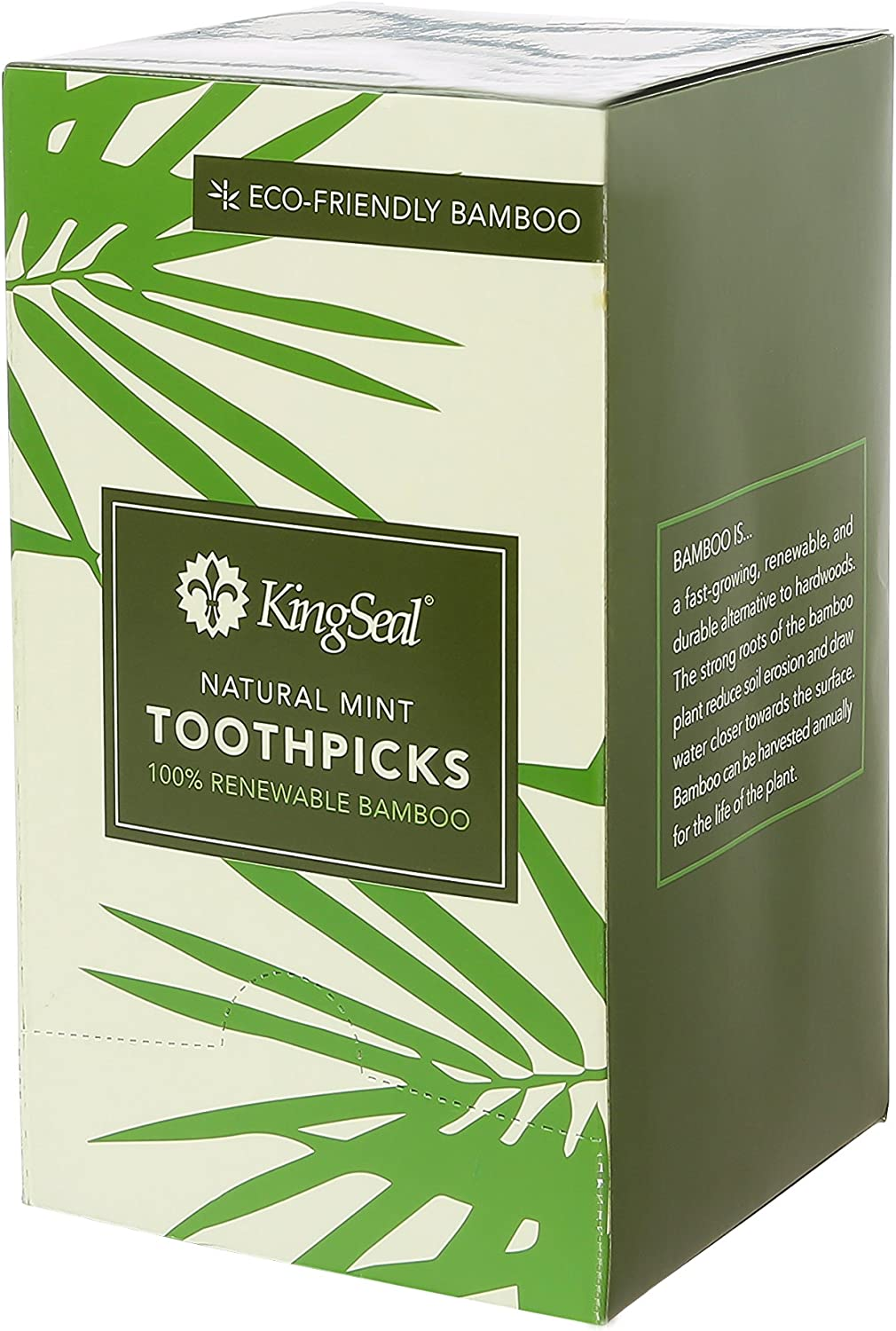 KingSeal Manufacturer regenerated product 67% OFF of fixed price 2.5 Inch Individually Paper Mint Wrapped Bamboo Flavor