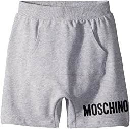 Moschino Kids - Sweatshorts w/ Front Pocket & Logo Detail (Little Kids/Big Kids)