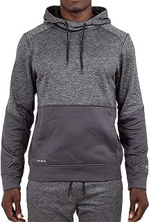 Layer 8 Men's Hoodie Performance Light Weight Training Tech Fleece Athletic Sweatshirt