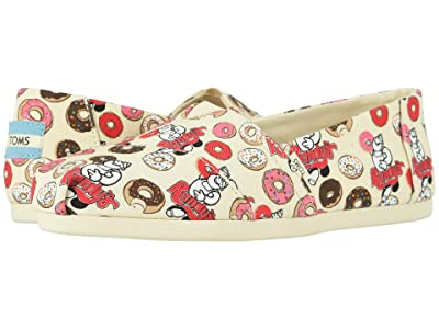 TOMS Venice Collection Alpargata 3.0 (Natural Randys Donut Print) Women