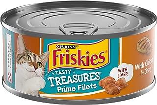 Purina Friskies Pate Wet Cat Food; Tasty Treasures