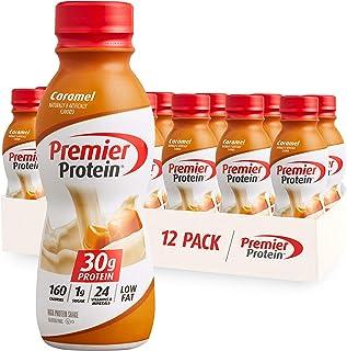 Premier Protein 30g Protein Shake, Caramel, 11.5 Fl Oz, Pack of 12