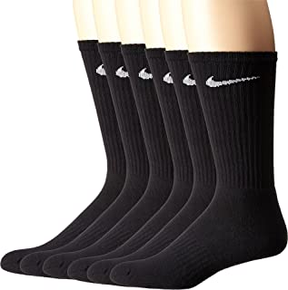 Performance Cushion Crew Socks with Band (6 Pairs)