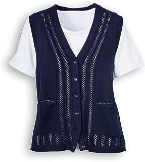 sleeveless christmas sweater