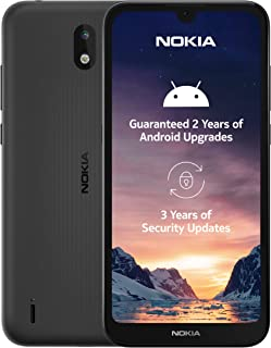 Nokia 1.3 5.71 Inch Android UK Sim-Free Smartphone with 1 GB RAM and 16 GB Storage (Dual Sim) - Charcoal