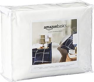 AmazonBasics - Funda hipoalergénica para colchón - 90 x