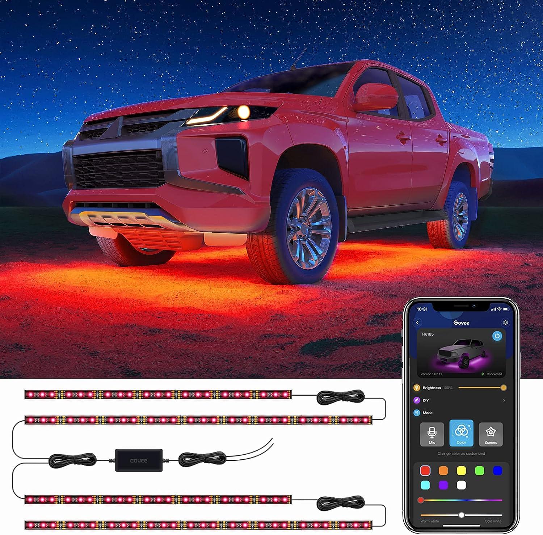 Govee shipfree Exterior Car Lights Genuine with App Design 2 Under Control Lines