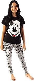 Carácter de la Novedad de Disney Mickey Mouse Mujeres Pijama sueño Set