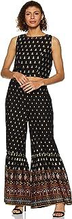 global desi Women's Rayon a-line Salwar Suit Set