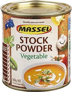 Massel Vegetable Stock Powder, Gluten Free, Cholesterol Free, No Added MSG, Made in Australia, 168g