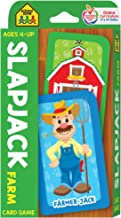 School Zone - Slapjack Farm Card Game - Ages 4+, Preschool to Kindergarten, Animals, Counting, Matching, Vocabulary, and M...