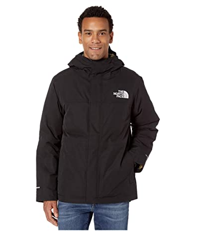 The North Face Balham Insulated Jacket (TNF Black/Burnt Olive Green Waxed Camo Print) Men