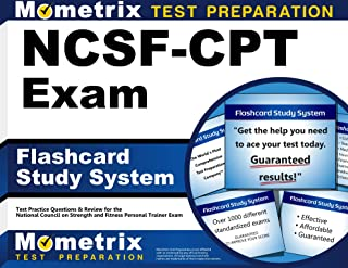 Flashcard Study System for the NCSF-CPT Exam: NCSF Test Practice Questions & Review for the National Council on Strength a...