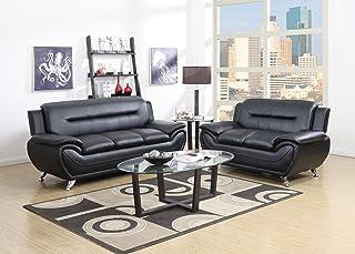 Amazon.com: Contemporary - Living Room Sets / Living Room Furniture ...