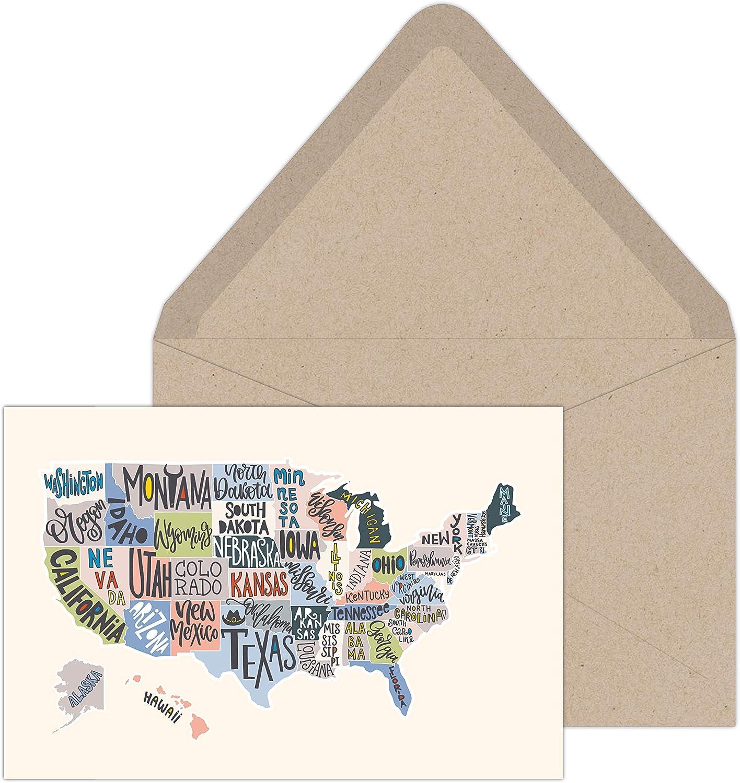 "Southworth Notecard Set with Kraft x 6"" Envelopes New Philadelphia Mall product type 4"""