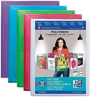 Elba 100211078 Polyvision maletín A4 azul/rosa/púrpura/verde, 1 unidad