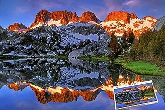 Foxpuz Artistic Jigsaw Puzzle Ediza Lake Ansel Adams Wilderness California 1000 Piece Puzzle for Teen Adult