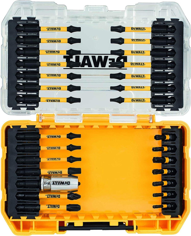 DeWalt DT70545T QZ-Lot de 34 pi/è ces vissage IMPACT TORSION avec adaptateur magn/é tique DEWDT70545T