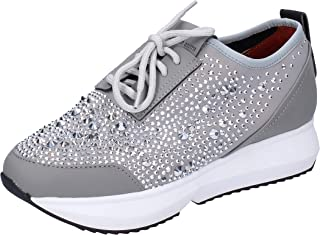 ALEXANDER SMITH Fashion-Sneakers Womens Grey