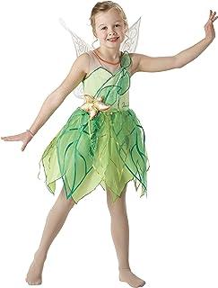 Rubie's Official Tinkerbell Fairy Girls Disney Fancy Dress Fairies Costume Child Kids