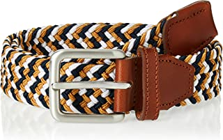 Jack & Jones Men's Jacspring Woven Belt Noos Belt