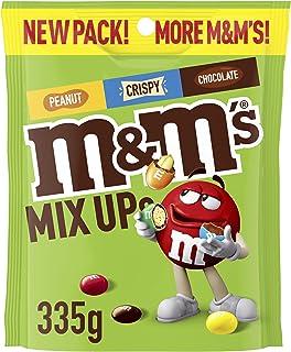 M&M's Mix Up's (Milk Chocolate, Peanut, Crispy) Large Bag, 335 g