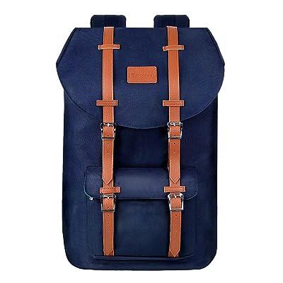 Prasacco Laptop Backpack, Water Resistant Anti-...