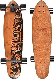 JUCKER HAWAII Longboard Skateboard Makaha Bambú - Diferentes Variaciones