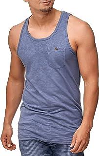 Caballero Lethbridge Camiseta de Tirantes con Bolsillo en el Pecho 100 % algodón | Regular Fit Camisa De Cuello Redondo Mangas Sin Shirt Interior para Hombres