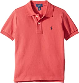 Cotton Mesh Polo Shirt(Little Kids/Big Kids)