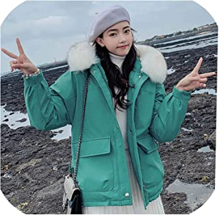 Surprise S Winter Women Parkas Thicken Warm Hooded Jacket Coat Two Pockets Winter Long Parkas