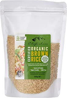 Chef's Choice Organic Brown Rice, 500 g