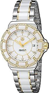 TAG Heuer - WAH1221.BB0865 - Reloj de Pulsera analógico para Mujer, Mecanismo de Cuarzo, Acero Inoxidable