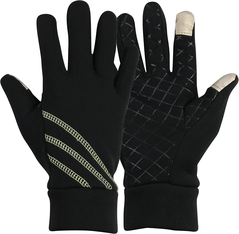 Women's Touch Screen Sport Fleece Running Gloves