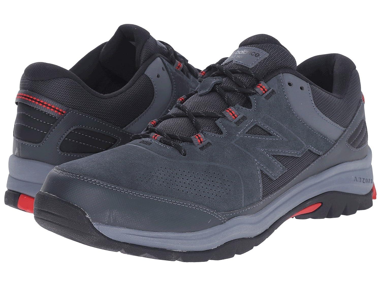 (ニューバランス) New Balance メンズウォーキングシューズ?靴 MW769v1 Grey/Red 8 (26cm) 4E - Extra Wide