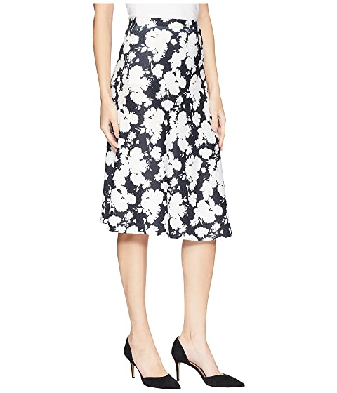 Nally & Millie Black/White Floral Printed Skirt Multi Outlet Low Cost With Mastercard Cheap Price Outlet 2018 Low Price Fee Shipping Online Cheap Outlet lvNZgfE8