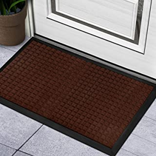 BCLBUSTE Door Mat Entryway Rug,Heavy-Duty Non-Slip Front Door Mat,Low-Profile Dirt-Absorbing Outdoor Doormats,Easy Clean a...
