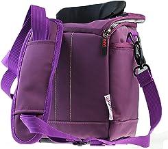 Navitech Purple DAB FM Digital Music Radio Shoulder Bag/Case Compatible with The Pure Evoke H2