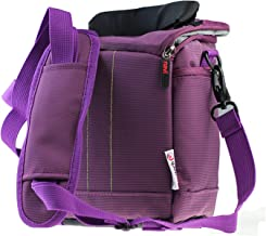 Navitech Purple Protective Portable Handheld Binocular Case and Travel Bag Compatible with The Leica Ultravid 10 x 42 HD-Plus